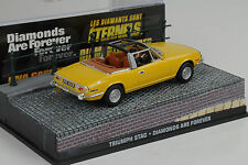 Película James Bond TRIUMPH STAG / DIAMONDS ARE FOREVER 1:43 IXO