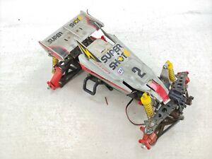 Tamiya Original Supershot 4WD RC Off-Road Buggy Parts Car Bashed Roller