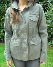 Flashlights, Damen-Outdoorjacke, Gr. 40, Khaki, Baumwolle, Polyester