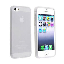 Iphone 5/5S TPU Gel Skin Case / Cover + 1 Screen Protector Strong Compact