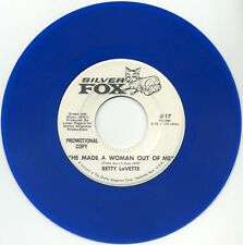 """BETTY LaVETTE He Made A Woman Out Of Me/same 7"""" 1969 Silver Fox promo EX+"""