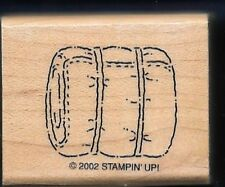 SLEEPING BAG CAMP ROLL Hike Hobby Gear STAMPIN' UP! 2002 Campout RUBBER STAMP