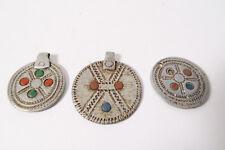 3 alte Anhänger D Aluminium Schmuck Amulett Äthiopien old pendants Sidamo