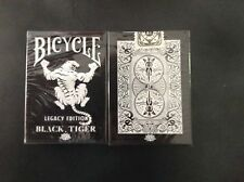 Carte da gioco Bicycle BLACK TIGERS LEGACY EDITION, poker size by Ellusionist
