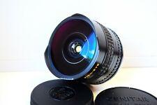 KMZ ZENITAR-N SLR 16mm f/2.8 URSS Lente Ojo De Pez Nikon F Montaje Excelente
