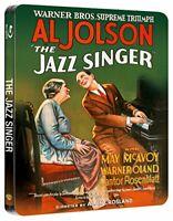 The Jazz Singer Steelbook (Blu-ray + UV Copy) [1927] [Region Free] [DVD]