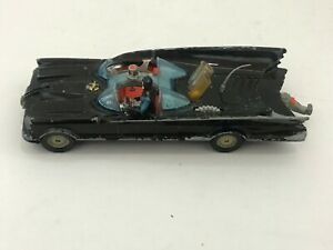 CORGI TOYS BATMOBILE with BATMAN for parts DC batboat ORIGINAL PARTS no robin
