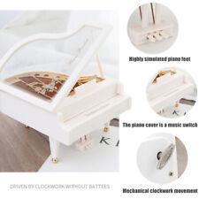 Music Box Vintage Melody Piano Shape Home Accessories Ornament