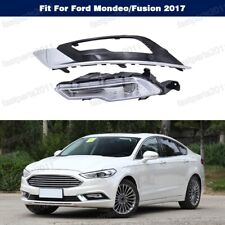 Front Bumper Fog Light Lamp w/ Cover LED Left Kit For Ford Mondeo/Fusion 2017