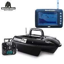 BearCreeks GPS Autopilot Scavenger bait boat futterboote With BC131 FishFinder