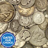 90% Junk Silver US Coins Lot of $1.00 Face Value Pre-1965 No Clad Or Nickels!