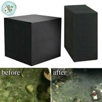 Eco-Aquarium Water Purifier Cube Water Cleaning Filter Activated Carbon Tools