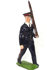 BRITAINS FROM SET NO. 2030 - MARCHING AUSTRALIAN INFANTRY - EXC. - RARE