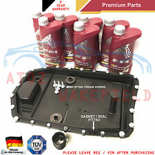 6HP19 6HP21 BMW AUTOMATIC TRANSMISSION GEARBOX SUMP PAN SEAL FILTER 7L OIL KIT