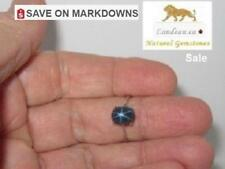 2.29 ct  BLUE STAR SAPPHIRE  SILVER RING