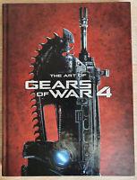 The Art of Gears Of War 4 Artbook Neuwertig Like New Videogame 3D Artist Concept