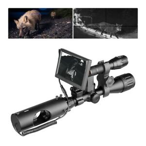 Infrared Night Vision  for Scope Optics Sight Tactical Hunting Riflescope Camera