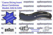Braun Coarse Slicing Insert Part 7000490 67000490 BR67000490 Models 3202 3205