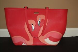 Kate Spade Flamingo Walk On The Wild Side Jules Tote Shoulder Bag - Used Once