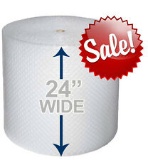 "24"" WIDE 3/16"" x 175' Ft Bubble Roll Small Bubbles 350 SQFT Cushion Wrap"