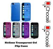 Étuis, housses et coques transparents Apple en silicone, caoutchouc, gel pour téléphone mobile et assistant personnel (PDA)