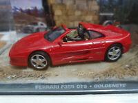 Ferrari F355 GTS - 007 GoldenEye - Scala 1:43 - Fabbri 007 - Nuova