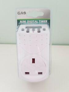 GA Mini Digital Timer 240V / Max 2000w