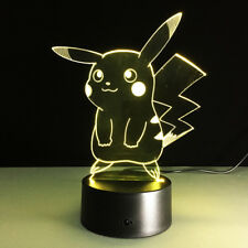 Pokémon LED Light - 7 color change touch button - Great Christmas Gift !