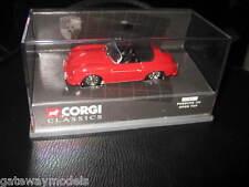 CORGI CLASSIC 1/43 PORSCHE 356 OPEN TOP RED    (03801)  OLD SHOP STOCK