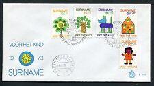 Suriname FDC E101 _ 2 M, code 1, blanco met open klep ;