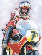 Barry Sheene, Suzuki 1978, art print