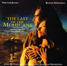 The Last of the Mohicans-1992-Score-Original Movie Soundtrack- CD