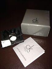 NIB Calvin Klein Round White Onyx Ladies Ring