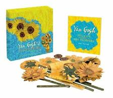 VAN GOGH'S SUNFLOWERS IN-A-BOX ~ BUILD YOUR OWN MULTIDIMENSIONAL MASTERPIECE NEW