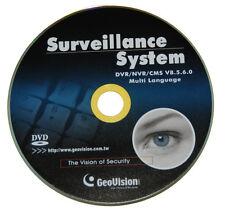 Original Geovision DVR/NVR Software - V. 8.5.7.0/Support Up To 32CH GV IP Cam