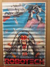 vintage 1985 ROBOTECH Poster original poster cartoon classic 5389