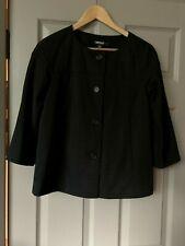 DKNY jacket Black Classic Short Jacket Size UK 10 US 6 Minimalist VVGC