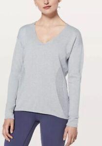 Lululemon Still Movement Sweater Blue Size 4