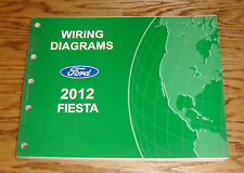 Original 2012 Ford Fiesta Wiring Diagrams Manual 12