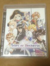 Play Station 3 PS3 USED Tales Of Vesperia Japan Import Work Tested NAMKO F/S