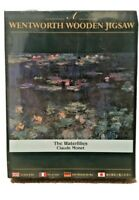 Wentworth The Waterlilies' By Claude Monet 250 Piece Wooden Puzzle New & Sealed