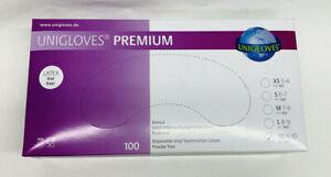 Einmalhandschuhe Vinyl Gr. XL Premium Latexfrei 100 St Unigloves NEU