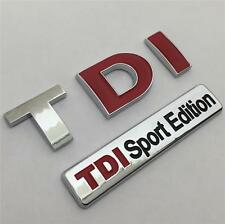 TDI SPORT EDITION Badge Emblem NEW For VW GOLF GT POLO LUPO PASSAT CC CADDY