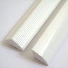 New Solid Bath/Corner/Shower/Worktop Seal Strips White Gloss Finish 1mtr Lengths