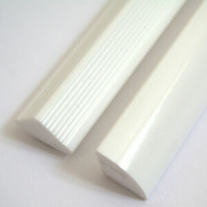 New Quality 15mm Solid Shower/Worktop Seal Strips White Gloss Finish 1M Lengths