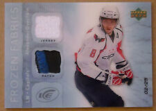 2007-08 ALEXANDER OVECHKIN UD ARTIFACTS FROIZEN FABRICS PATCH & JERSEY SP /25