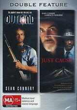 Outland / Just Cause - Action / Sci-Fi / Thriller - Sean Connery - NEW DVD