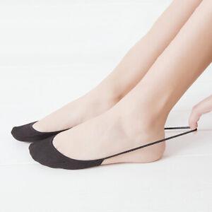 High Heels Invisible Socks Women Slingback Toe Cover No Show Socks