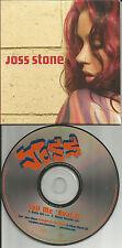 JOSS STONE Tell Me Bout it w/ RARE RADIO EDIT PROMO DJ CD Single about 2007 USA