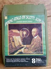 Scott Joplin 8-track Cartridge Piano Rags